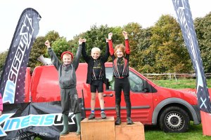 YCCA Round 5. Huddersfield Oct 2016. Podium presentations. Under 8 boys.