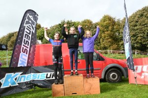 YCCA Round 5. Huddersfield Oct 2016. Podium presentations. Under 10 girls.