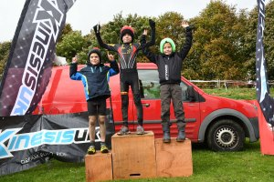 YCCA Round 5. Huddersfield Oct 2016. Podium presentations. Under 10 boys