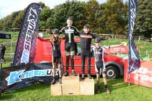 YCCA Round 5. Huddersfield Oct 2016. Podium presentations. Under 14 boys.