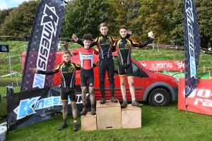 YCCA Round 5. Huddersfield Oct 2016. Podium presentations. Under 16 boys..